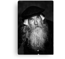 A Wise Old Man Canvas Print
