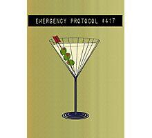 Emergency Protocol #417 Photographic Print
