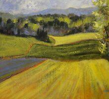 Verdant Hills by Holly Friesen