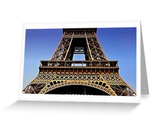 Eifel Tower 002 Greeting Card