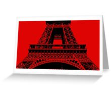 Eifel Tower 003 Greeting Card