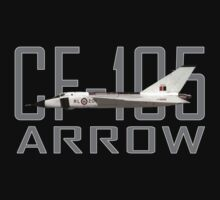 Avro Arrow CF-105 by dopefish