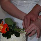 Cutting the Wedding Cake by Vonnie Murfin