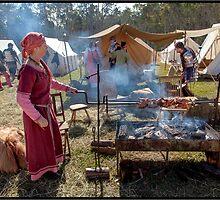 Abbey Medieval Festival 2012  10 by John Van-Den-Broeke