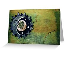 Memories in the mirror Greeting Card