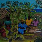 Islanders at work by Bellarina74