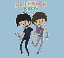 Science Bros T-Shirt by ecokitty