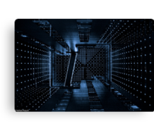 Tokyo Cyberspace Canvas Print