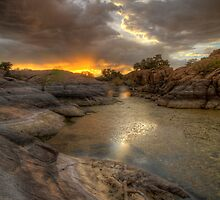Remains At Sunset 2 by Bob Larson