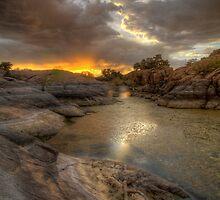 Remains At Sunset 2 by Bob Larson