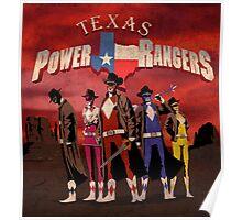 Power Texas Rangers Poster