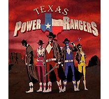 Power Texas Rangers Photographic Print