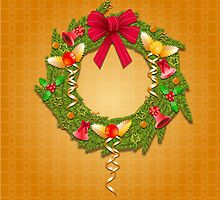 Christmas wreath by Shane  Luskie