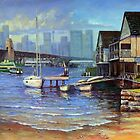 Lavender Bay Boathouse, Sydney Harbour by marshstudio