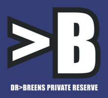 Doctor Breen 'B' logo by bubblemunki