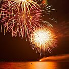 Fire on the Water by NikonJohn