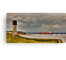 Leaving the Humber Estuary Canvas Print
