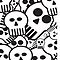 toon skulls by Ancello