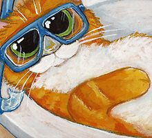 Ginge Goes Snorkelling by Lisa Marie Robinson