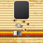 Breaking Bad RV Bullet Holes iPhone Case by breakingBlue