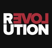 Revolution of love (white text) by Charlize Cape