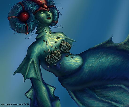 Mermaid by MegaJett