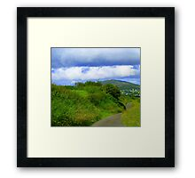 Ten Minutes From The City Framed Print