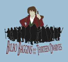 Bilbo Baggins and the Thirteen Dwarves by Anglofile