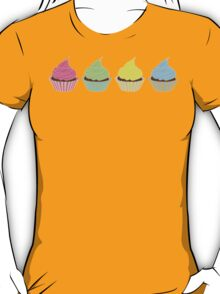 Four Cupcakes is Better T-Shirt
