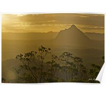 Beerwah, Glass House Mountains, Queensland Poster