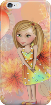 Birthday Girl Iphone Case by Kristy Spring-Brown