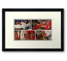 THE WEDDING RITUALS! Framed Print
