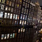 Windless night in Amsterdam by Pim Kops