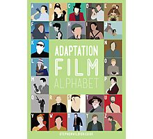Adaptation Film Alphabet Photographic Print