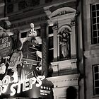 London Theatre (39 Steps) - B&W by Dale Rockell