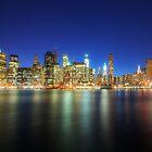 Manhattan Nite Lites NYC by Yhun Suarez