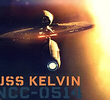 USS Kelvin NCC-0514 by goldleaves