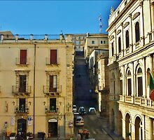 Sicilian Architecture by Janone