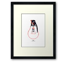 Idea is a powerful weapon Framed Print
