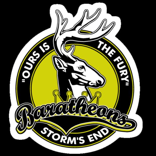 Storms End Baratheons by AngryMongo