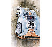 Steve McQueens Porsche 917K Le Mans Photographic Print