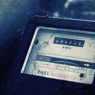 Abandoned Blue #17 by Daniele Porceddu