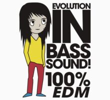 Evolution In Bass Sound 100% (black) by DropBass
