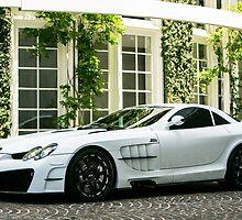 Mansory SLR  by Mo Satarzadeh
