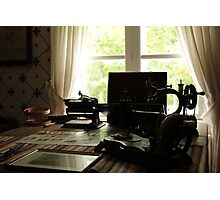 The sewing machine Photographic Print