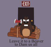 Dam beaver by seanshop