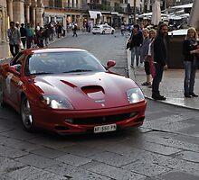 Ferrari 550 Maranello (1996) by Frits Klijn (klijnfoto.nl)
