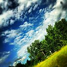 Cloudy Summer Sky. by albertot