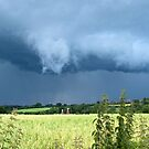 Thunderclouds over the Weald by mikebov