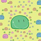Clannad - Green Dango IPod Case by Kyrannyx